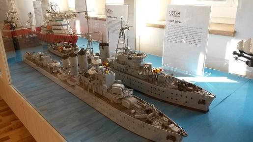 wystawa klocków LEGO w Ustce