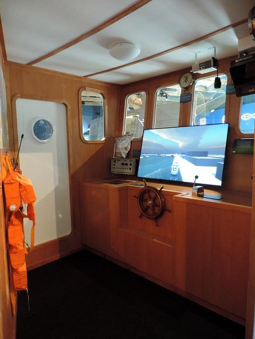 wystawa praca rybaka władysławowo atrakcje opinie symulator statku