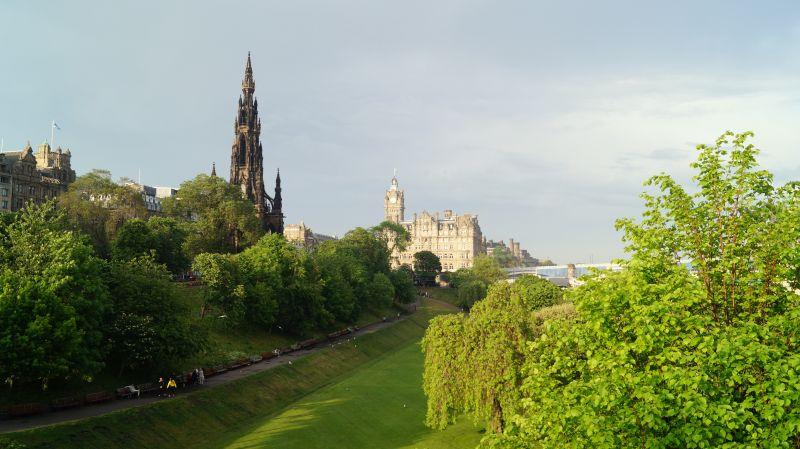Edynburg wakacje z dzieckiem Szkocja opinie