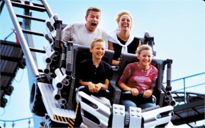 rodzinne atrakcje Legoland Billund