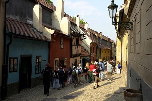 Czechy Praga Złota Uliczka - rodzinne atrakcje