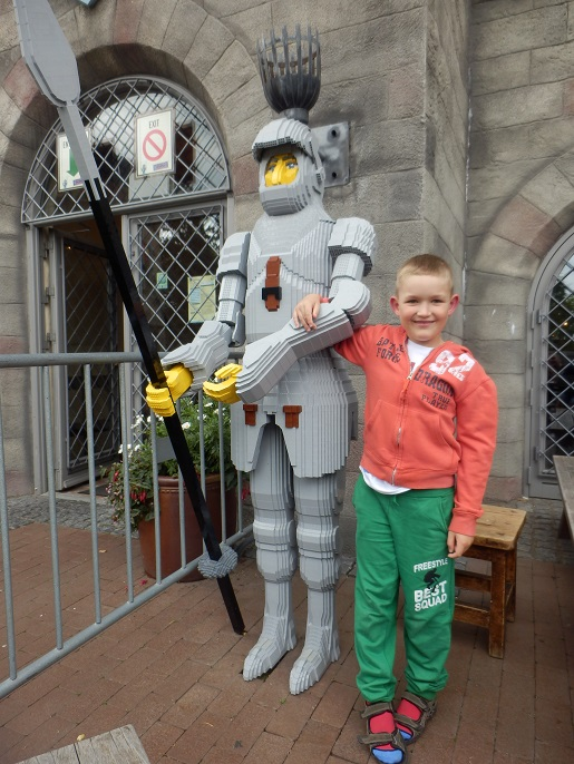 atrakcje -zamki Legoland