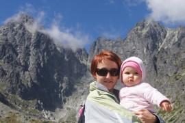 Podróże Hani- z dzieckiem w wysokie góry