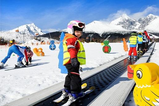 z dzieckiem na narty Poprad Słowacja opinie