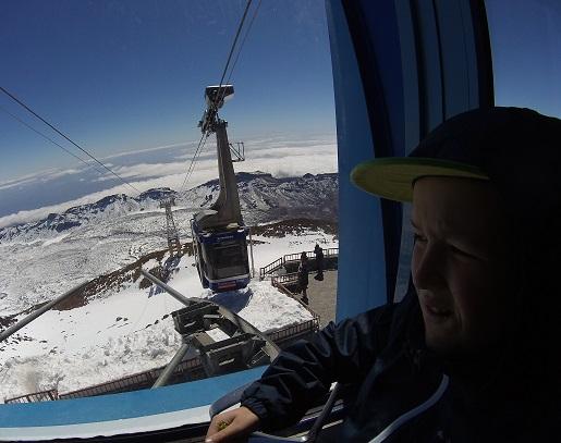kolejka linowa Teide -opinie ceny biletów - wycieczka z dzieckiem