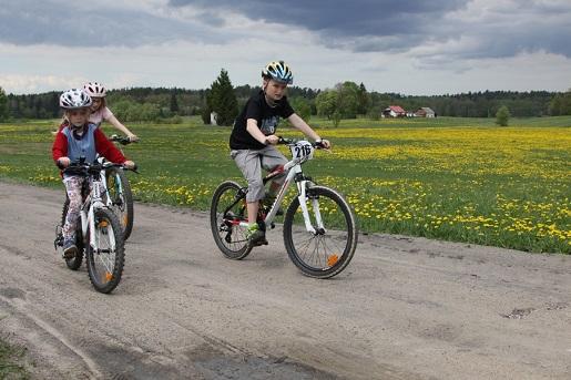 z dziecmi Mazury trasy rowerowe