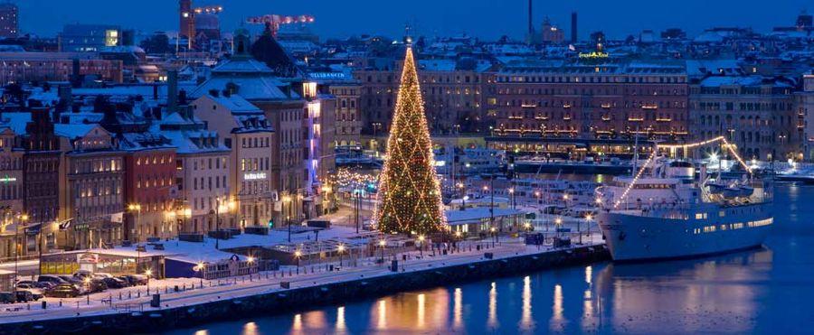 sztokholm zimą z dzieckiem