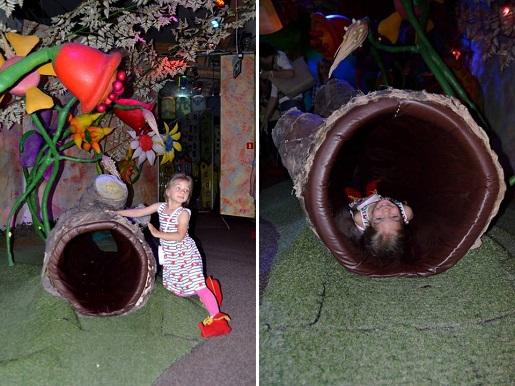 zaczarowany ogród Pacanów z dzieckiem