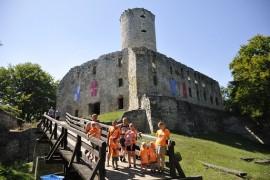 zamek Lipowiec z dziećmi opinie Śląsk