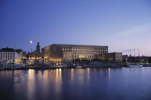 Sztokholm Zamek Królewski
