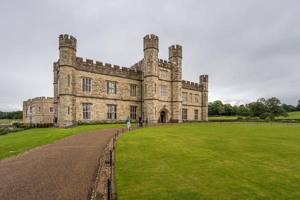 Zamek Leeds Wielka Brytania opinie atrakcje