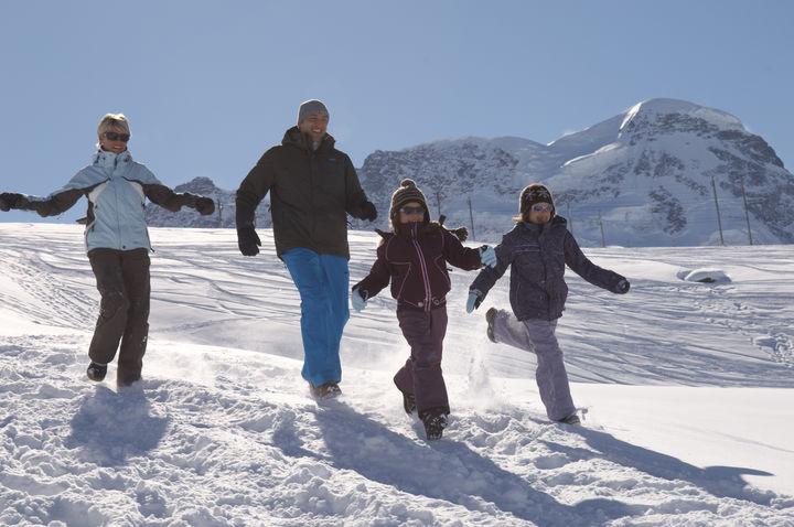 Zermatt rodzinne atrakcje narty