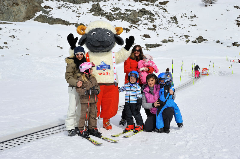 narty z dzieckiem Zermatt Szwajcaria opinie