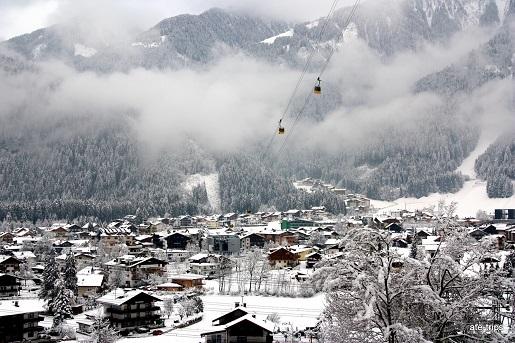 Dolina Zillertal z dzieckiem