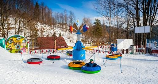 zimowy plac zabaw dla dzieci Wisła Hotel Stok opinie