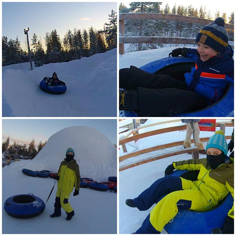 zjazdy na dętkach snowman world rovaniemi atrakcje dla dzieci opinie