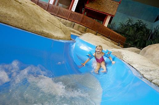 zjeżdżalnie dla dzieci atrakcje Lalandia Billund Resort