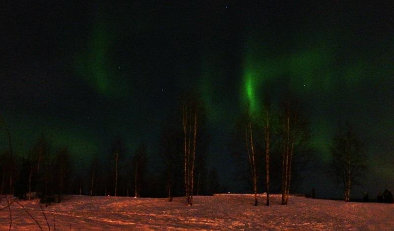 zorza polarna Rovaniemi gdzie ogladac opinie Laponia Finlandia
