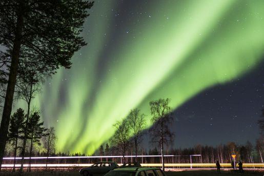 Rovaniemi Finlandia zorza polarna opinie atrakcje