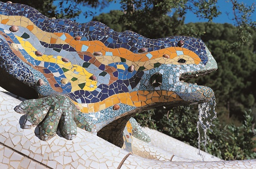 zwiedzamy Barcelonę z dzieckiem park Guell