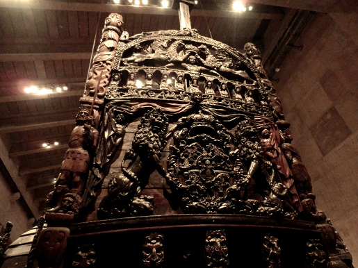 statek vasa - muzeum Sztokholm