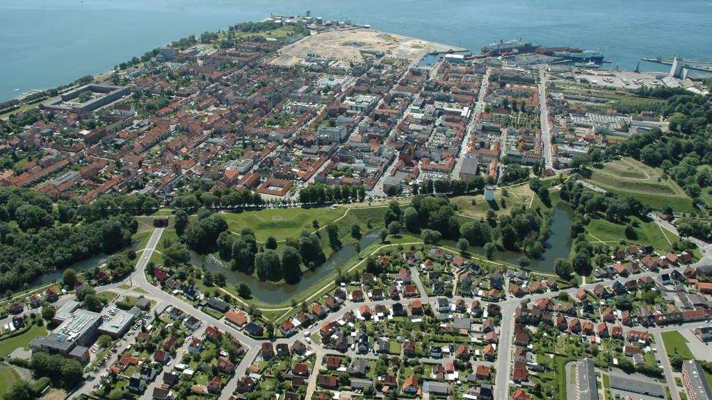 Fredericia fortyfikacje zwiedzanie gra terenowa z dzieckiem
