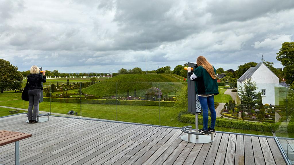 Kongernes Jelling atrakcje centrum nauki dla dzieci Dania
