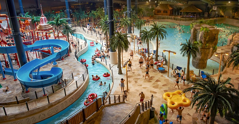 Aquapark Lalandia Legoland okolice park wodny atrakcje Billund