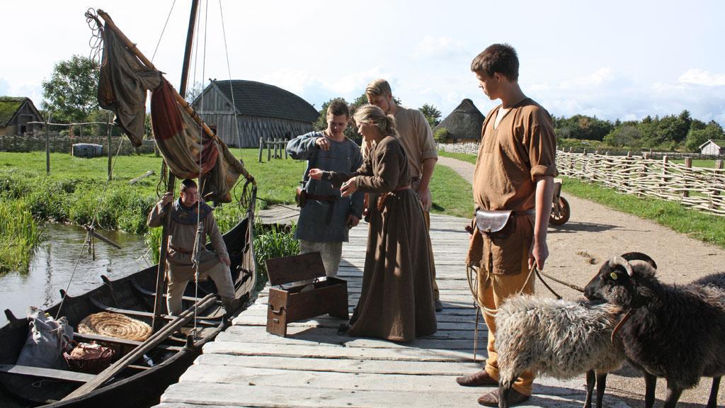 centrum vikingów dania atrakcje ribe okolice legoland co zobaczyć