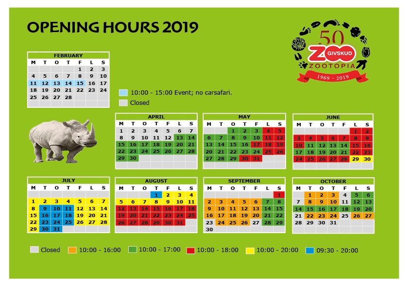 givskud zoo godziny otwarcia 2019 safari billund