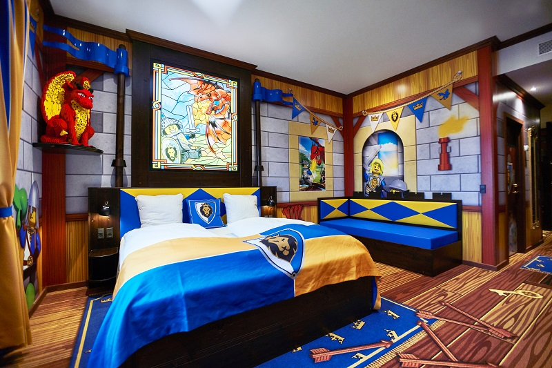 pokoje zamek castle LEGOLAND Hotel 12