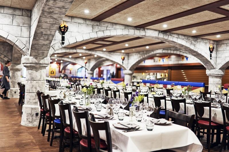 restauracja zamek LEGOLAND hotel