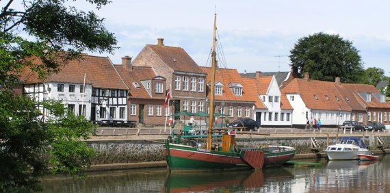 Ribe najstarsze miasto w Danii co zobaczyć atrakcje