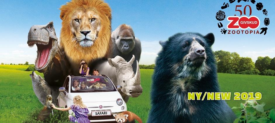 Givskud ZOO Safari 2019 atrakcje w okolicy LEGOLAND Billund co zobaczyć