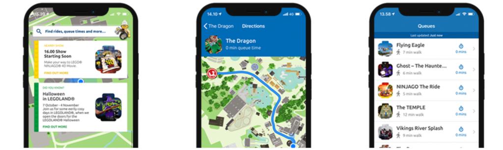 aplikacja mapa LEGOLAND Dania Billund