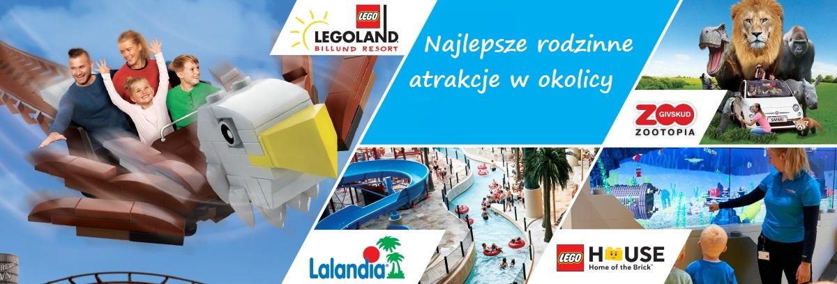 atrakcje dla dzieci w okolicy LEGOLAND Billund co zobaczyć opinie 2019 bilety tanie noclegi