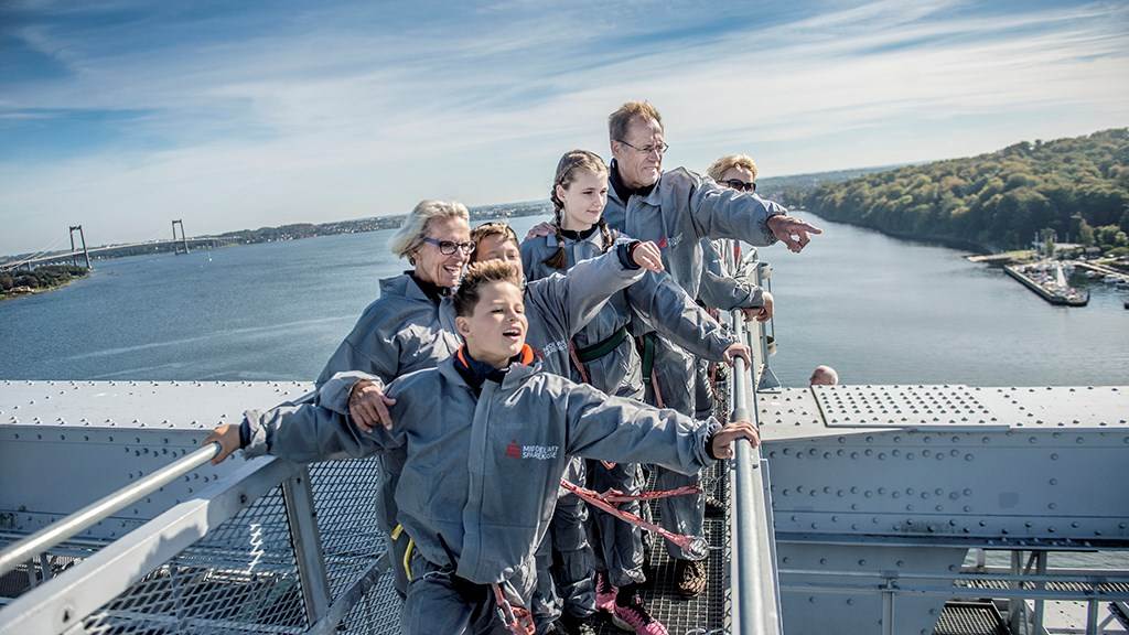 wycieczka po moście Mały Bełt Dania ekstremalne atrakcje