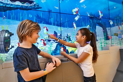 Interaktywne Akwarium LEGO House zabawy dla dzieci z LEGO Billund - 2019