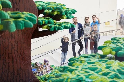 drzewo z lego - LEGOHOUSE Billund - atrakcje- co zobaczyć opinie- 2019 - 148