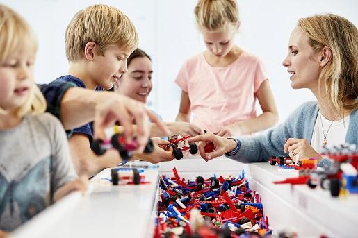 wyścigi LEGO House - atrakcje - strefa niebieska -2 019