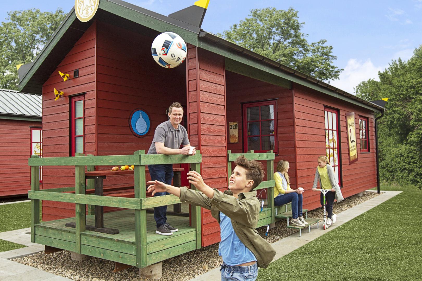 Domki wakacyjne LEGOLAND Village wioska camping (5)