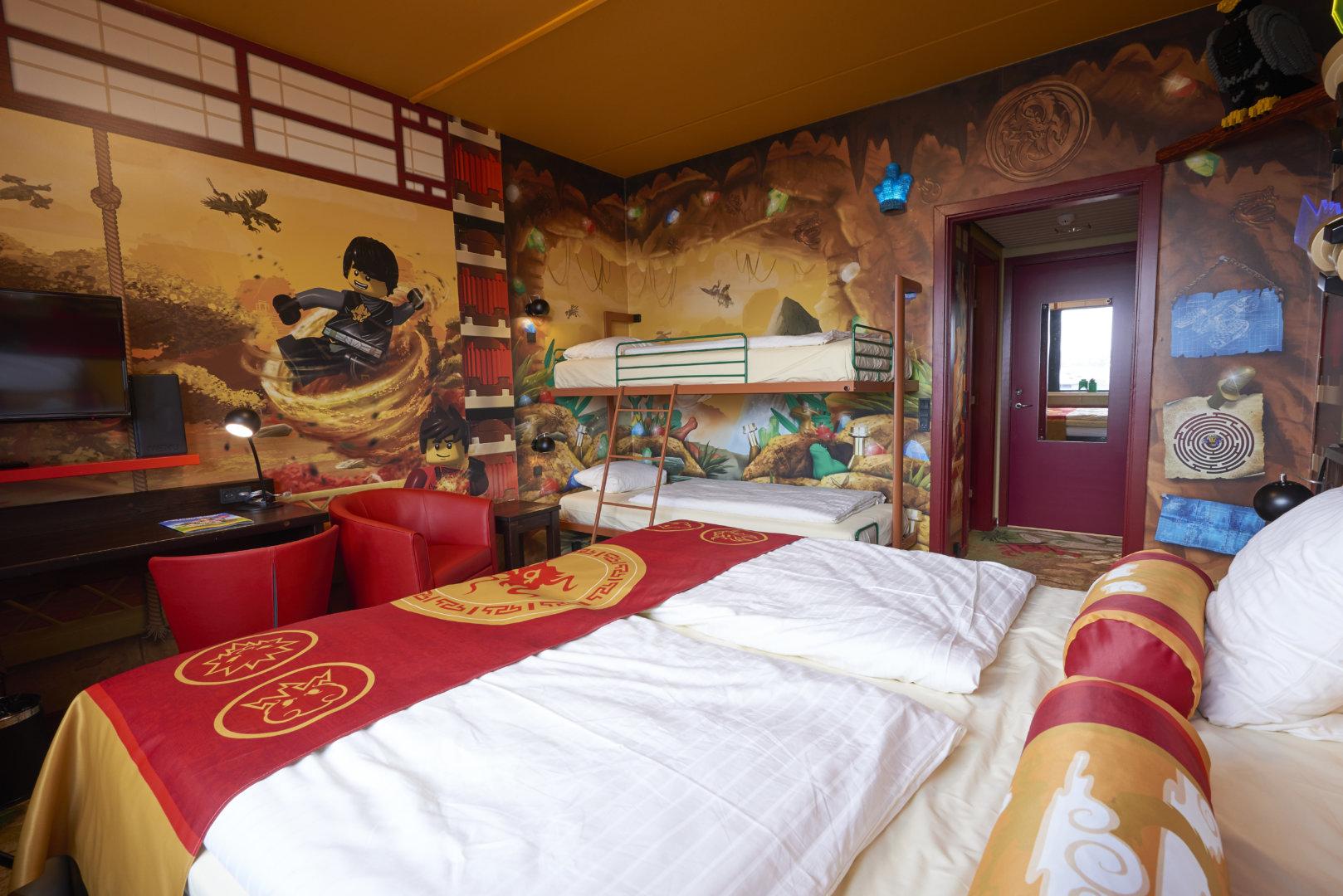 Hotel LEGOLAND Billund pokoje noclegi w parku LEGOLAND (2)