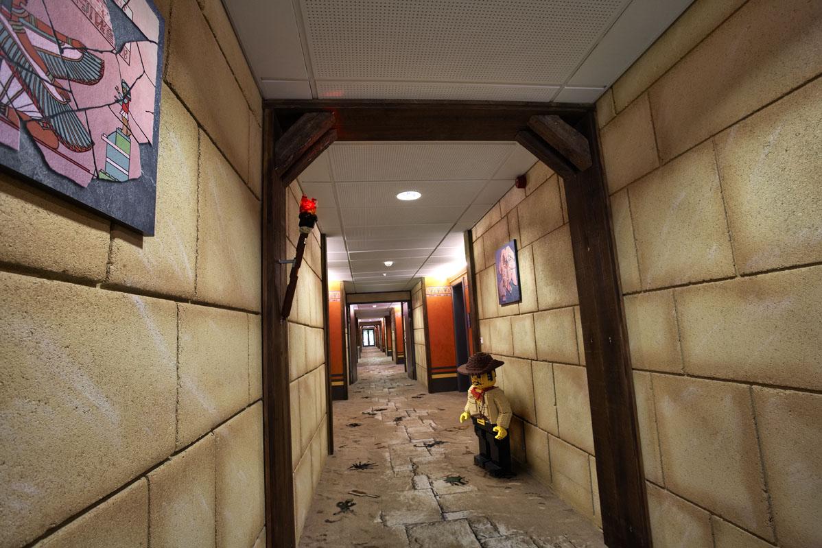 Hotel LEGOLAND Billund pokoje z klockami LEGO