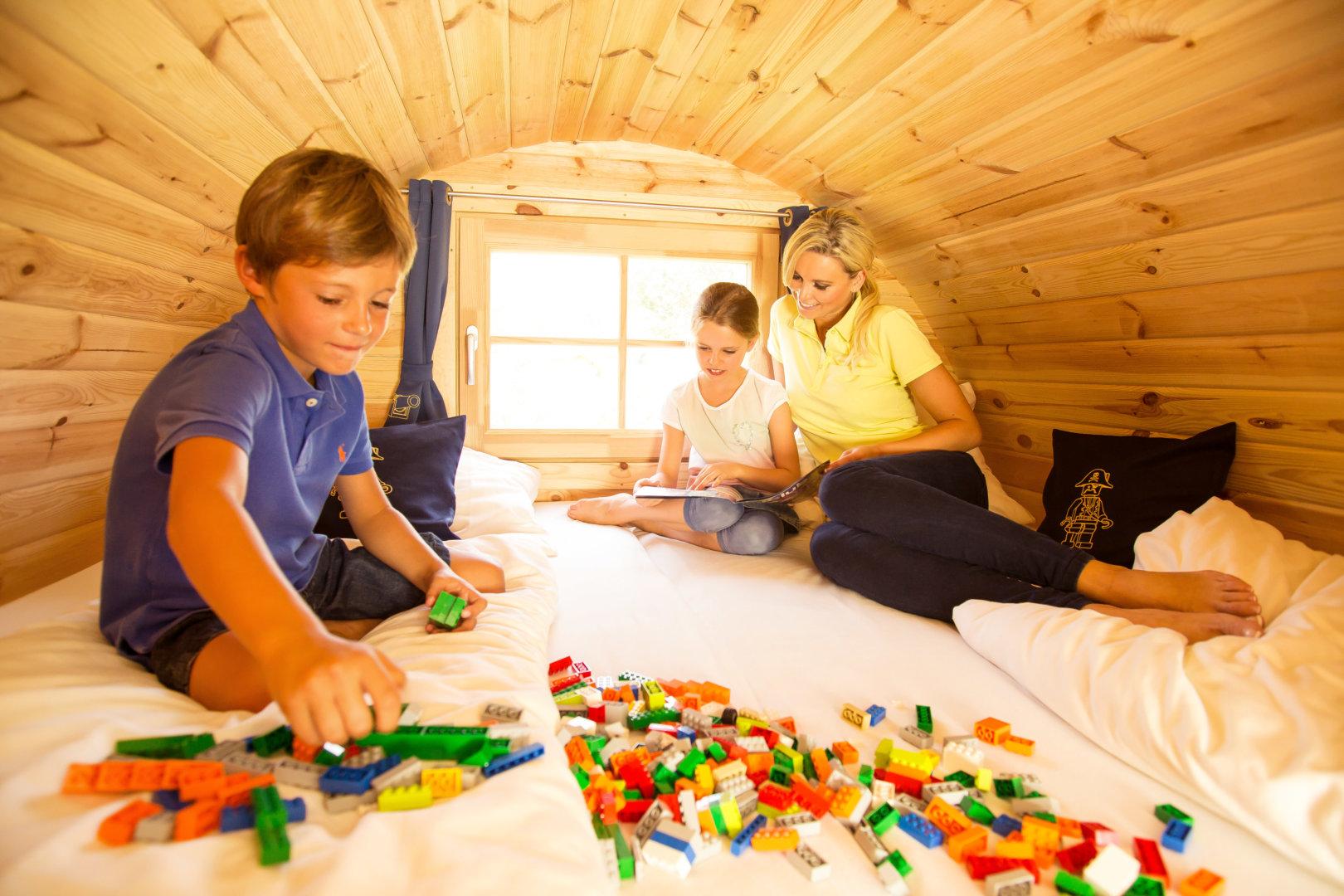 Nocleg LEGOLAND Village camping opinie z dzieckiem rodzaje zakwaterowania (2)