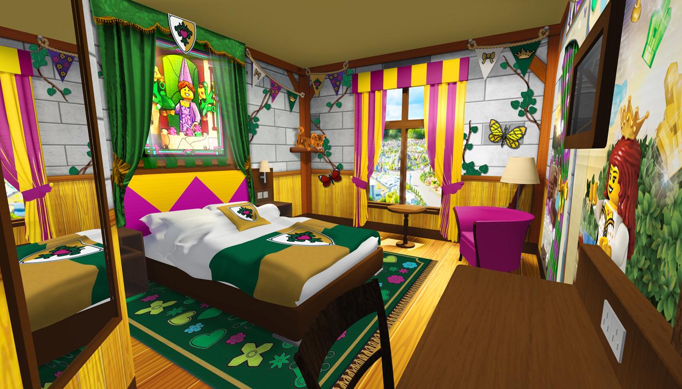 hotel zamek LEGOLAND Castle pokoje nowość ceny