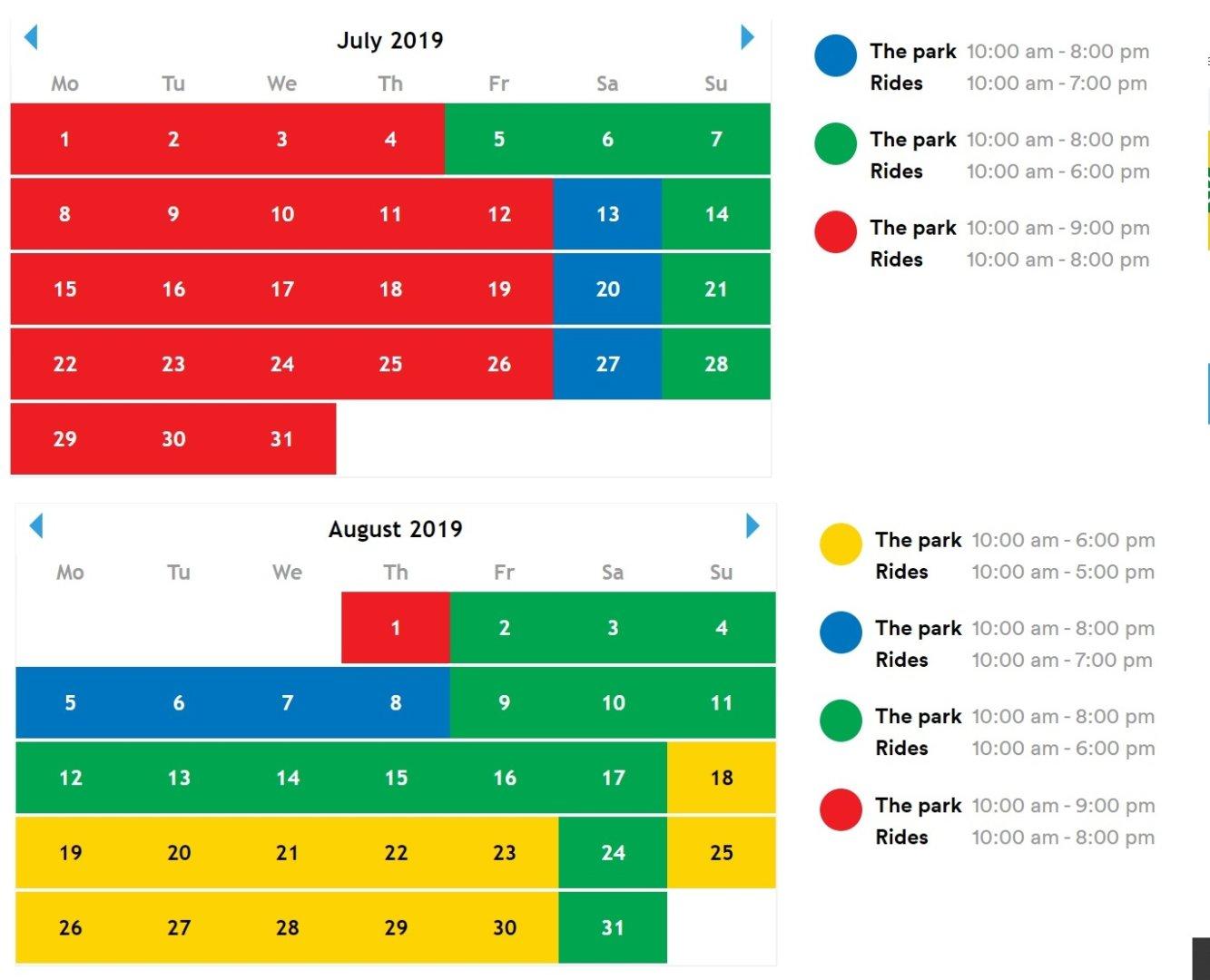 Legoland dania godziny otwarcia 2019 lipiec sierpień 1
