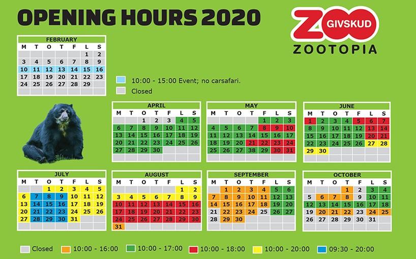 givskud zoo safari 2020 godziny otwarcia