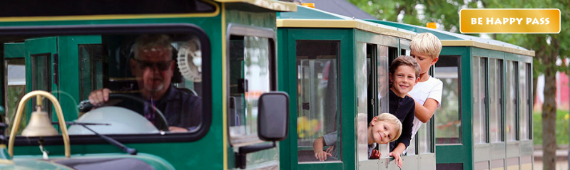 be happy pass zniżki okazje Billund atrakcje tramwaj