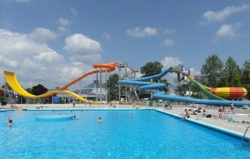 Čatež Słowenia aquapark baseny termalne atrakcje