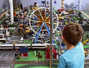 wystawa klocków Lego łeba rodzinne atrakcje opinie